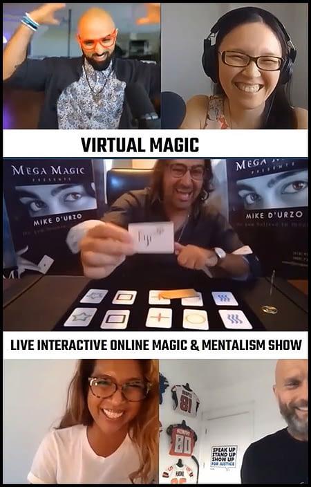 virtual magic poster website